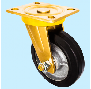 Heavy Duty Series, Rubber Caster Wheel