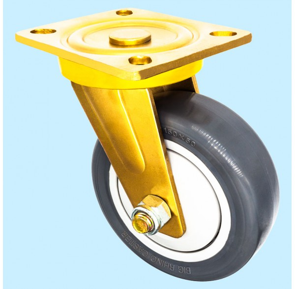Heavy Duty Series, Thermoplastic Polyurethane Caster Wheel (TPU)